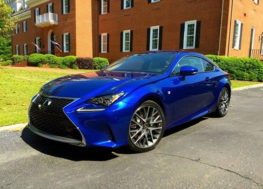 2015 lexus rc 350 f sport coupe the automotive advisor. Black Bedroom Furniture Sets. Home Design Ideas