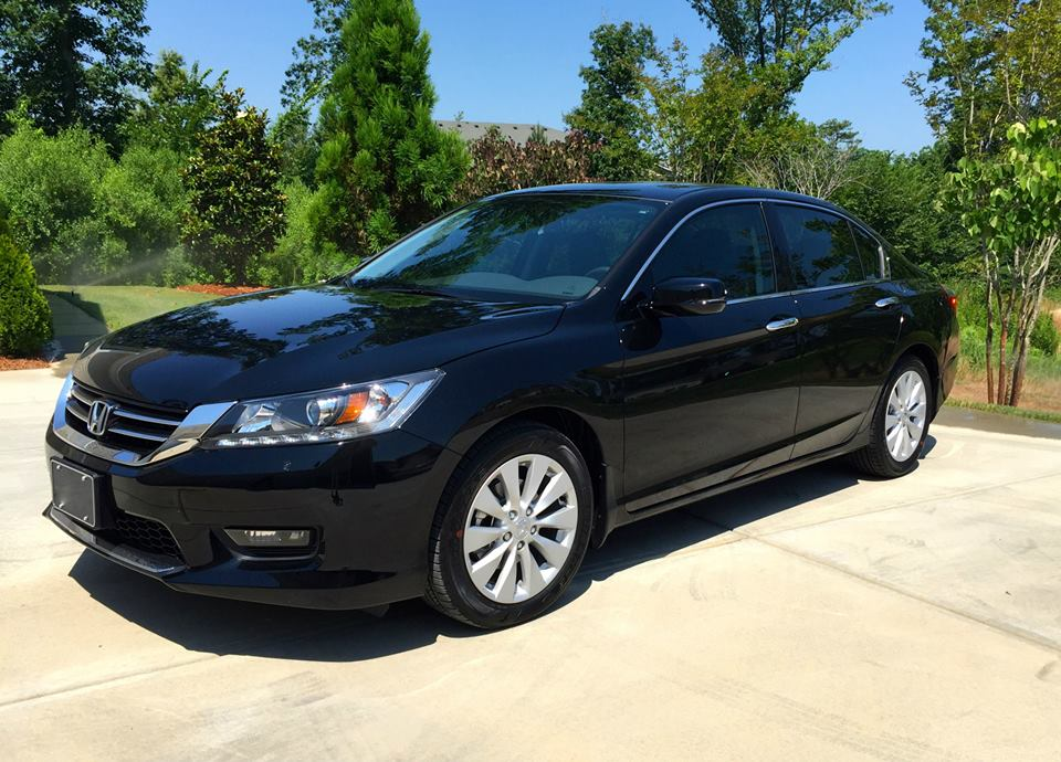 NEW 2015 Honda Accord EX-L | The Automotive Advisor