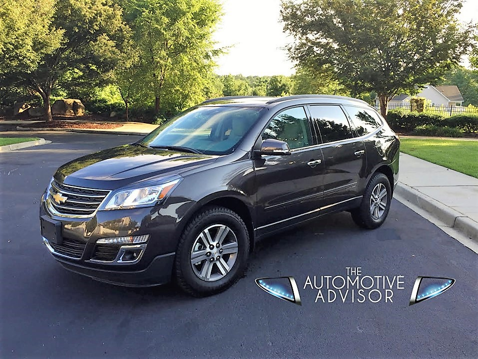 new 2017 chevrolet traverse lt the automotive advisor. Black Bedroom Furniture Sets. Home Design Ideas