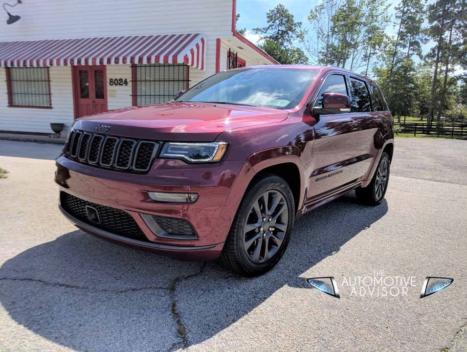 new 2018 jeep grand cherokee overland the automotive advisor. Black Bedroom Furniture Sets. Home Design Ideas