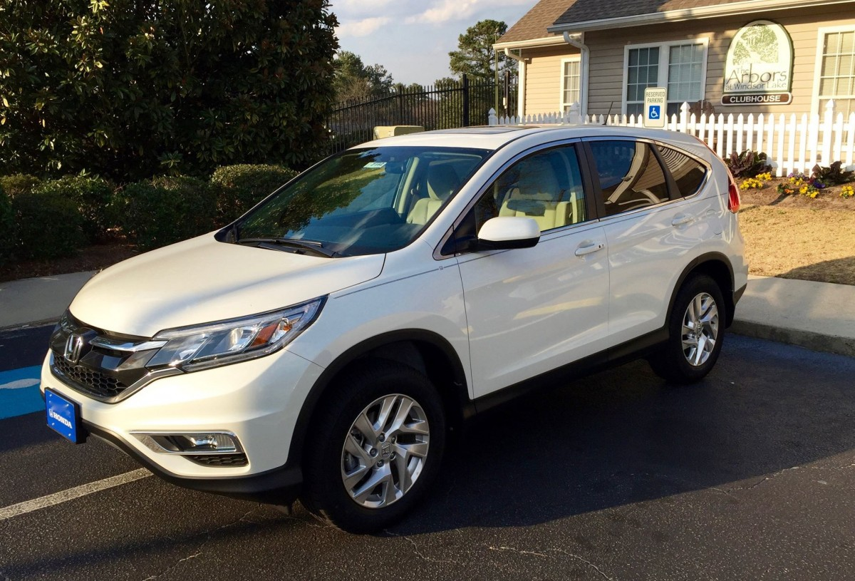 New 2016 honda crv ex the automotive advisor for Honda crv 2016 white