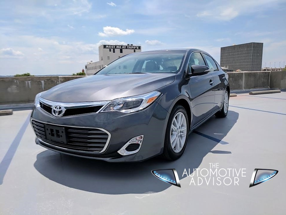 2015 toyota avalon xle the automotive advisor. Black Bedroom Furniture Sets. Home Design Ideas