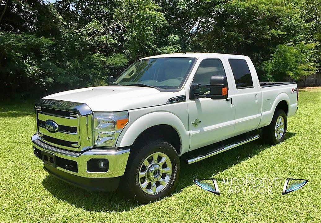 2014 ford super duty f250 diesel lariat crew cab the automotive advisor. Black Bedroom Furniture Sets. Home Design Ideas